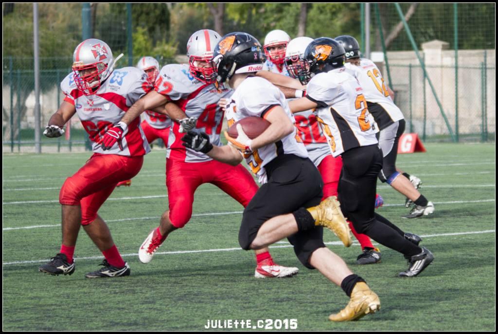 Un'azione di gioco della partita (Foto Giulia Congia)