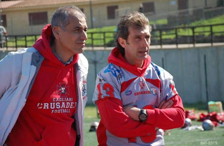 Emanuele Garzia e Sam Meloni (Foto Battista Battino)