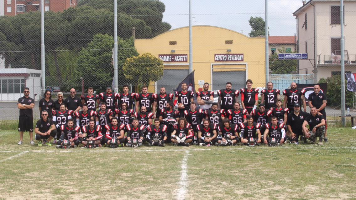 football americano veterans grosseto squadra 2017