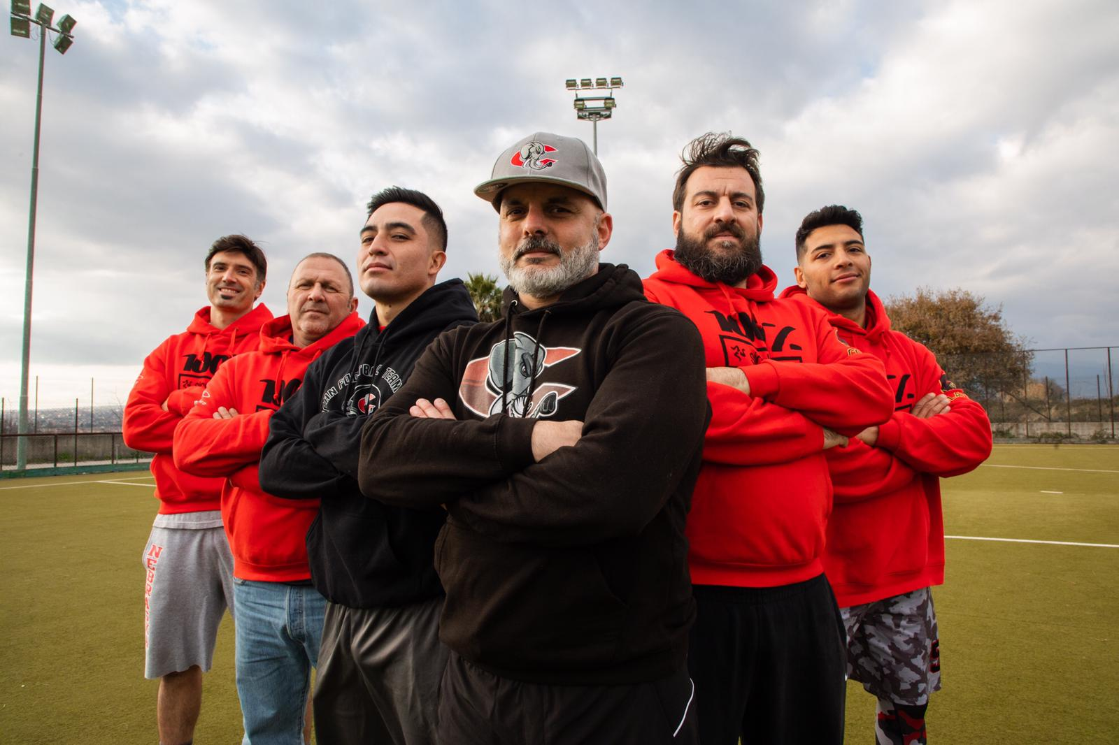 Coaching Staff Elephants Head Coach: Renato Gargiulo Offense Coordinator: Rodrido Rios Martinez Offense Assistant: Fortunato Camarda Defense Coordinator: Gianmarco Pecoraro Defense Assistant: Claudio Caruso