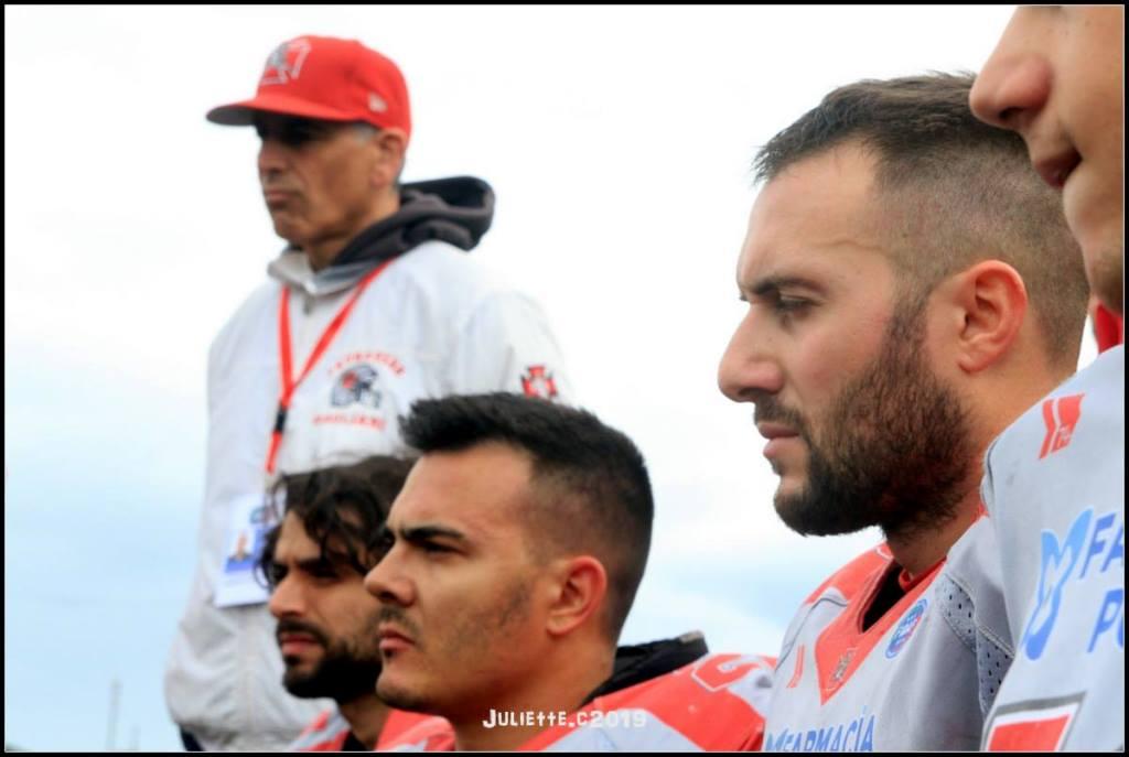 Col presidente Garzia ci sono anche Mandas, Cappai e Romellini (Foto Giulia Congia)