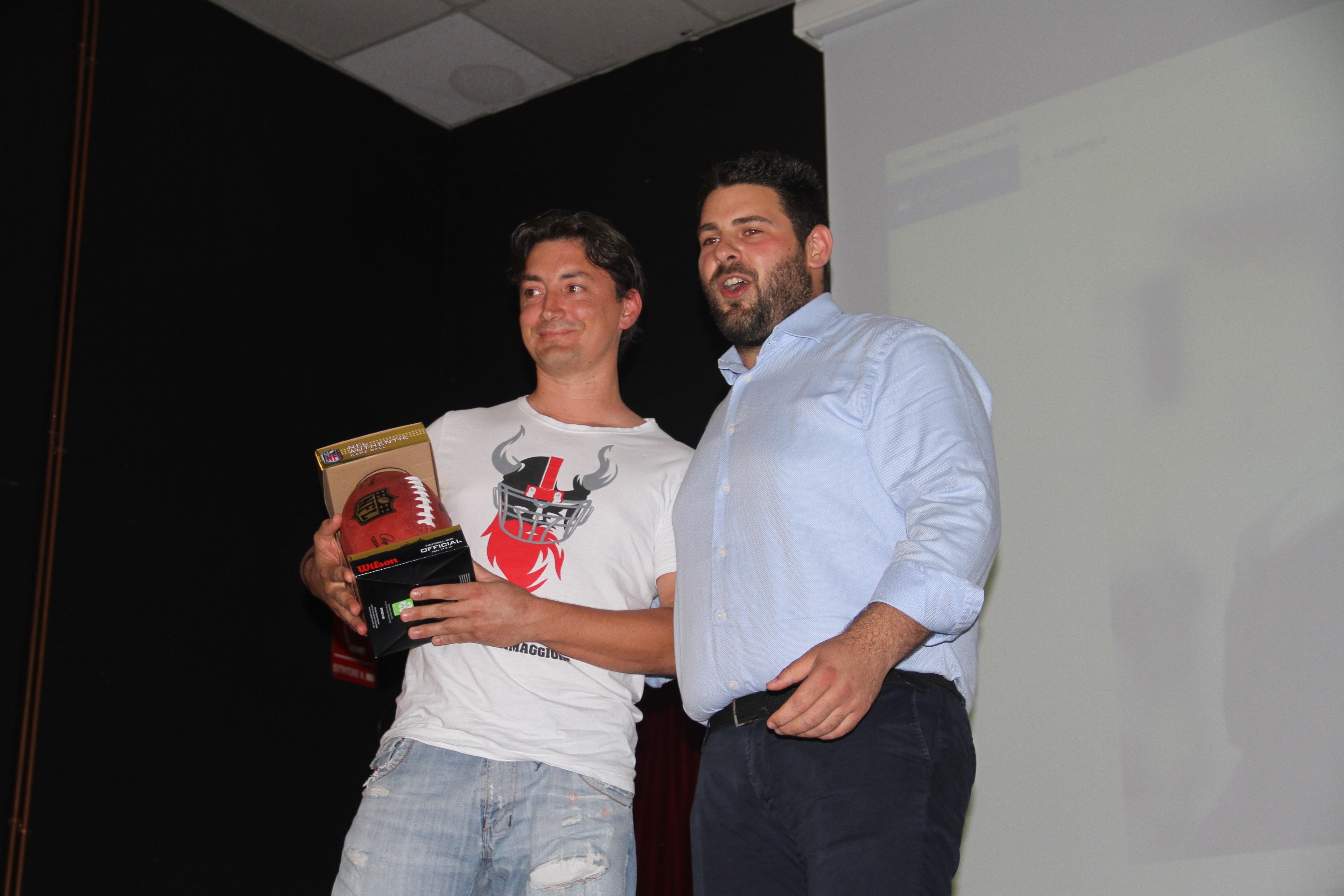 Premiazione Peter Ferlemann