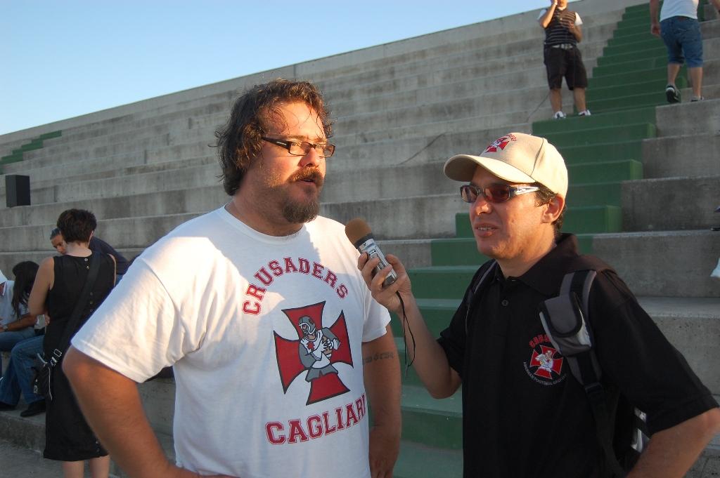 Giacomo Clarkson in versione head coach