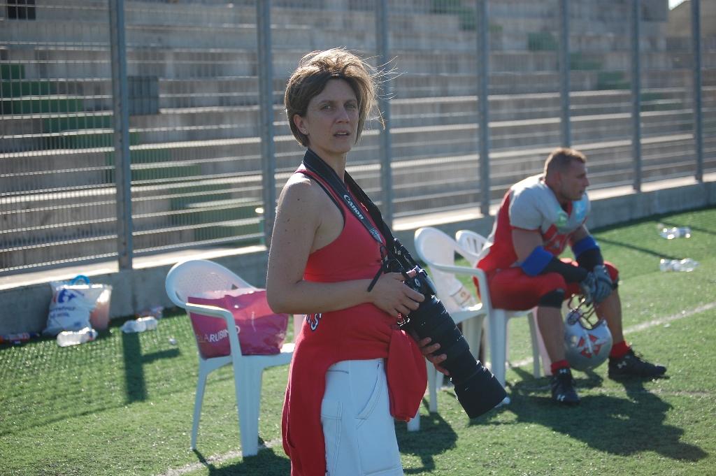 la dirigente fotografa Giulia Congia