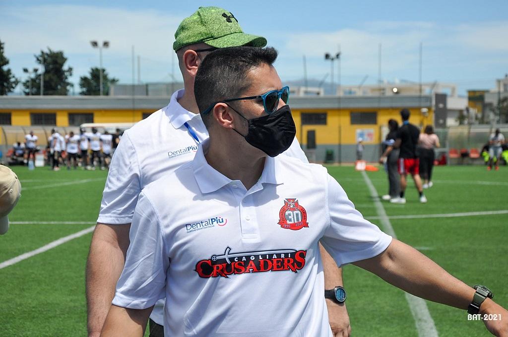 L'head coach Aldo Palmas (Foto Battista Battino)